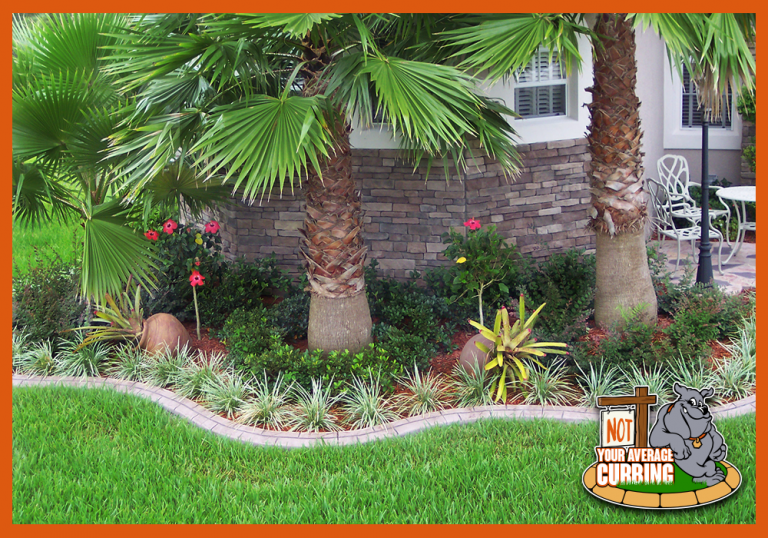 Not Your Average Curbing - Custom Stamped Curbing - Paver